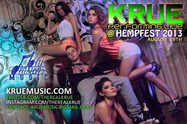 KRUE Performing Live At Hempfest 2013  On The Main Stage At 5pm